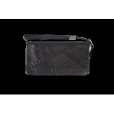 Кожаное портмоне черного цвета KURT, арт. 1012