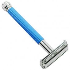 Т-образный станок для бритья PARKER, арт. 29L blue